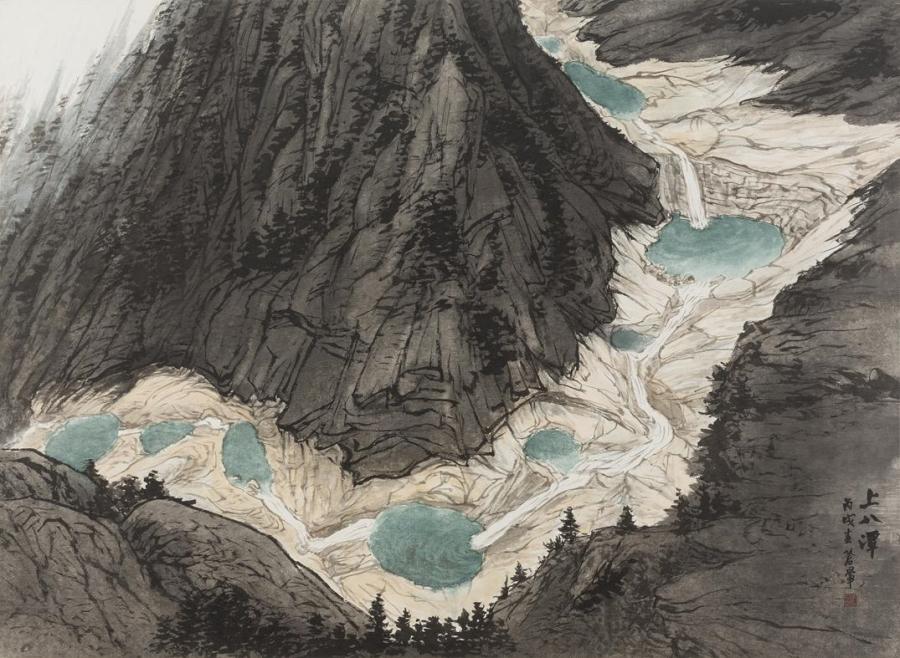 신금강산도新金剛山圖
