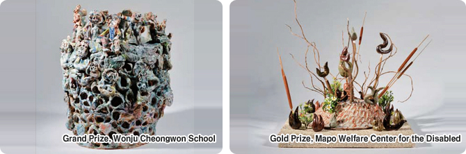 Grand Prize, Wonju Cheongwon School  / Gold Prize, Mapo Welfare Center for the Disabled