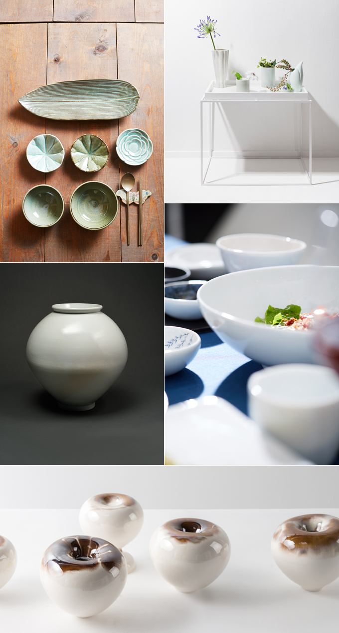 Functional Ceramics by One Hundred Korean Artists <CERAMIC : BLOSSOM> class=