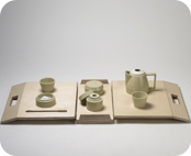 Mobile Tea Tools for 2 on a Spring Picnic