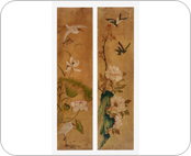 Painting of Flowers and Birds