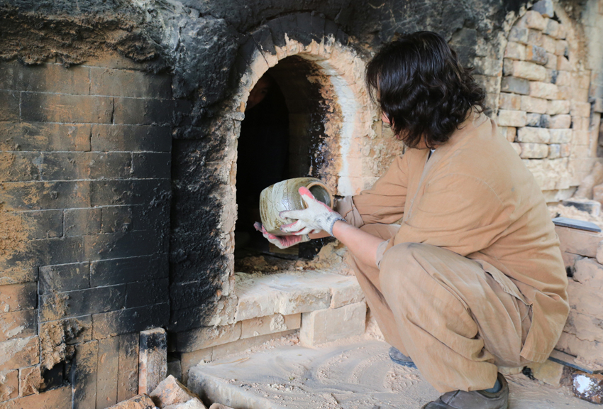 Firing a Traditional Kiln